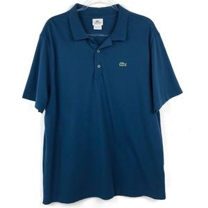 Men's Lacoste Sport Teal Short Sleeve Polo Shirt